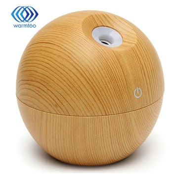 Essential Oil Diffuser 130ML LED Ultrasonic Cool Mist Aroma Air Humidifier USB Air Purifier for Office Home Bedroom Living
