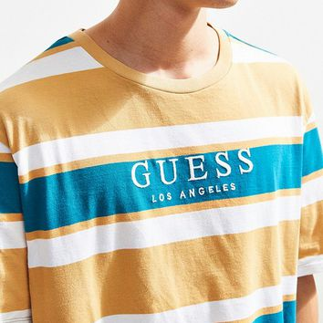 GUESS Peer Stripe Tee | Urban Outfitters