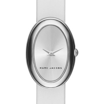 MARC JACOBS 'Cicely' Leather Strap Watch, 31mm | Nordstrom