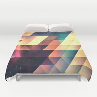 thyss lyyts Duvet Cover by Spires