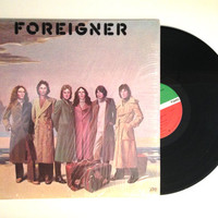 Vinyl LP Foreigner Self Titled Album Record 1977 Starrider Cold As Ice Woman Oh Woman