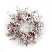 Sub Zero Collection Snowy Berry/Pine Wreath