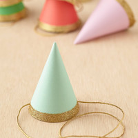 Glitter Party Hats Set | Urban Outfitters