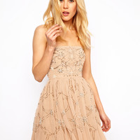 Needle & Thread | Needle & Thread Ornate Prom Dress at ASOS