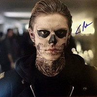 Evan Peters Signed 8x10 Photo American Horror Story w/COA & FREE PROOF PICS Will Pass PSA/DNA 05