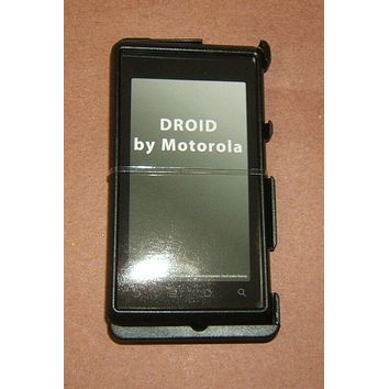 Xentris 63-0050-01 Hard Case For Motorola Droid Snap On Black -- New