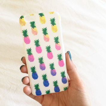 Electric Pineapple iPhone Case