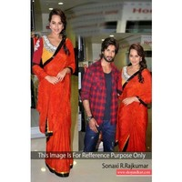 Sonakshi sinha r...rajkumar movie promotion bollywood replica saree 251 | Shop 'N kart