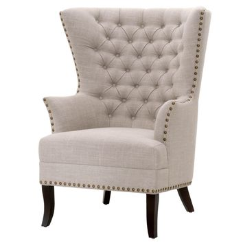 Bristol Club Chair Birch Fabric