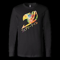 Fairy Tail - Fairy tail logo - unisex long sleeve t shirt - TL00852LS