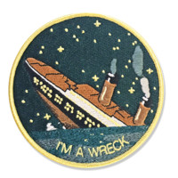I'm A Wreck Patch