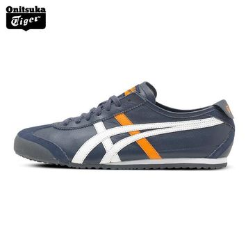 PEAPON 2017 ONITSUKA TIGER MEXICO 66 Men's Shoes Breathable Leather Men Sport Shoes Sneakers Lightwei Trainers Athletic Shoes D4J2L