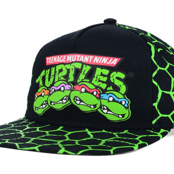 Teenage Mutant Ninja Turtles Kids 4 Faces Snapback Hat