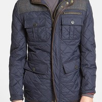 Men's Vince Camuto Diamond Quilted Full Zip Jacket ,