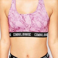 Criminal Damage Marble Bralet
