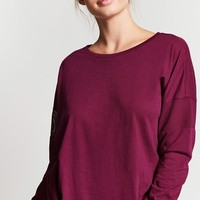 Active Dolman-Sleeve Top