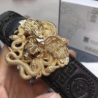 Versace mens medusa snake wings belt Tagre™