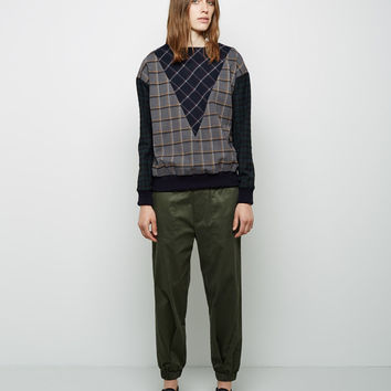 Sateen Sweatpant by  Band of Outsiders