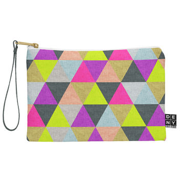 Bianca Green Ocean Of Pyramid Pouch