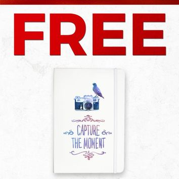 Christmas 2018 Free NOTEBOOK039 Capture The Moment Notebook Gift With Purchase