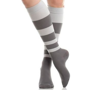 Compression Socks for Women in Color Block