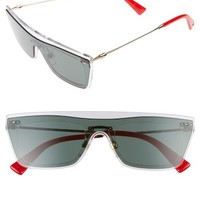 Valentino Rockstud 50mm Rectangular Sunglasses | Nordstrom
