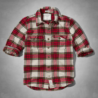 Allen Brook Flannel Shirt