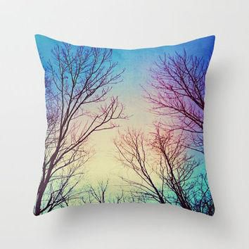 Freedom Throw Pillow by Erin Jordan | Society6