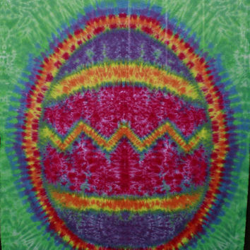 Tie-Dye Easter Egg wall hanging by MrTieDye