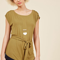 Seen as Sophisticated Top in Moss