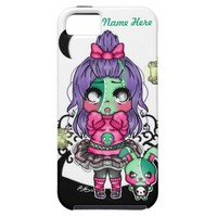 Kawaii Chibi Zombie iPhone 5 Covers
