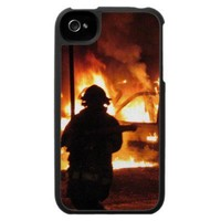 Firefighter Handline Iphone 4 Case from Zazzle.com