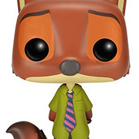 Funko Nick Wilde POP Disney: Zootopia Figure