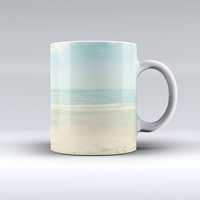 The Relaxed Beach ink-Fuzed Ceramic Coffee Mug