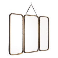 ZUO Tri Gold Wall Mirror-A10521 - The Home Depot