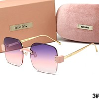 MIU MIU Summer Newest Women Men Sun Shades Eyeglasses Glasses Sunglasses 3#