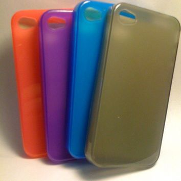 Iphone 4 tpu soft skin case cover
