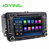 JOYING Android Car Multimedia Player For VW 7 inch Double 2 Din Car Radio GPS Navigation DVD Player Car Audio Stereo Auto