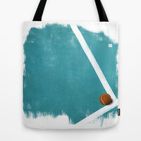Tennis Tote Bag by Matt Irving