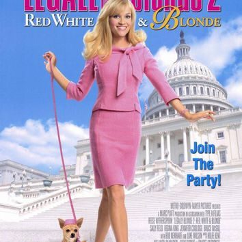 Legally Blonde 2: Red, White & Blonde 11x17 Movie Poster (2003)