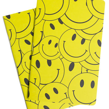 SMILEY NOTEBOOK 2 PACK
