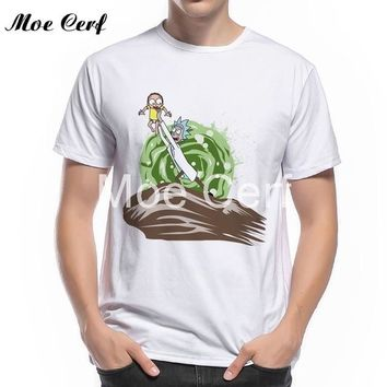 Anime T-Shirt cosplay Rick and Morty Einstein E=MC2 Print T-Shirts Novelty Geek Funny Anime Tops Men 2018 New Fashion The Big Theory T Shirt L9-C-28 AT_57_4