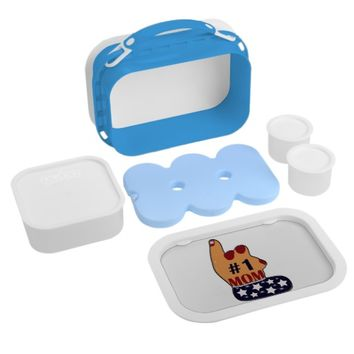 Patriotic #1 Mom Lunch Box