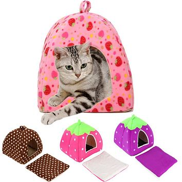 Lovely Soft Pet Products New Arrival Dog Bed Free Shipping Pet House Washable Pet Circular House Easy to Clean Durable