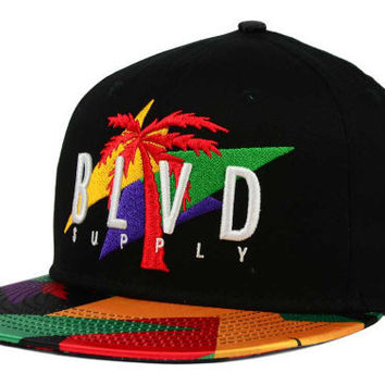 BLVD TREE BALLER SNAPBACK HAT