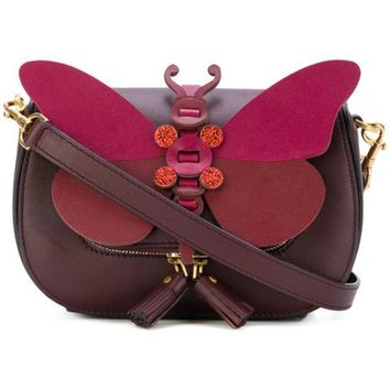 DCCKIN3 Anya Hindmarch Small Butterfly Shoulder Bag