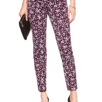 Print Jackson-Fit Slim Ankle Pant | Banana Republic Factory