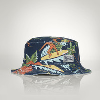 REVERSIBLE HAWAIIAN BUCKET HAT