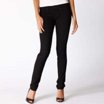Black Slight Curve Skinny