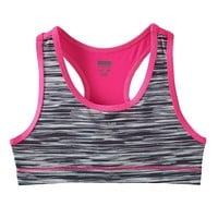 New Balance Space Dye Sports Bra - Girls 6-12, Size: